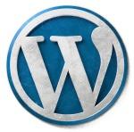 Blue WordPress