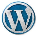 Blue WordPress